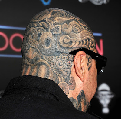 Tattoo, Men, Head, Offbeat,