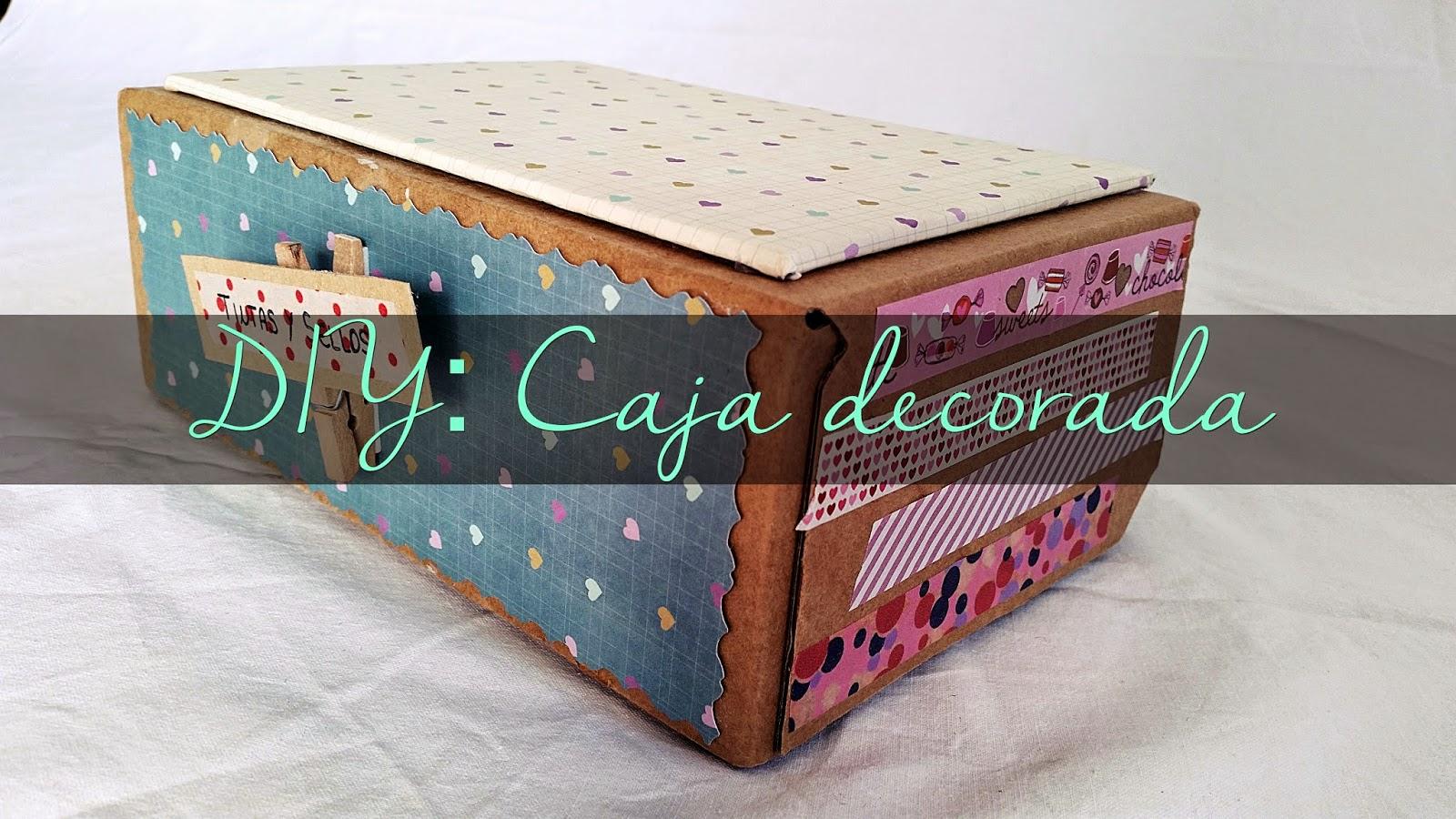 Cajas decoradas scrap - Manualidades cajas decoradas ...