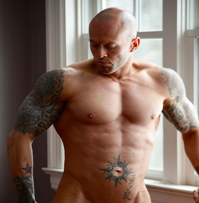 Male Model And Bodybuilder John Quinlan Recently Did His First Nude