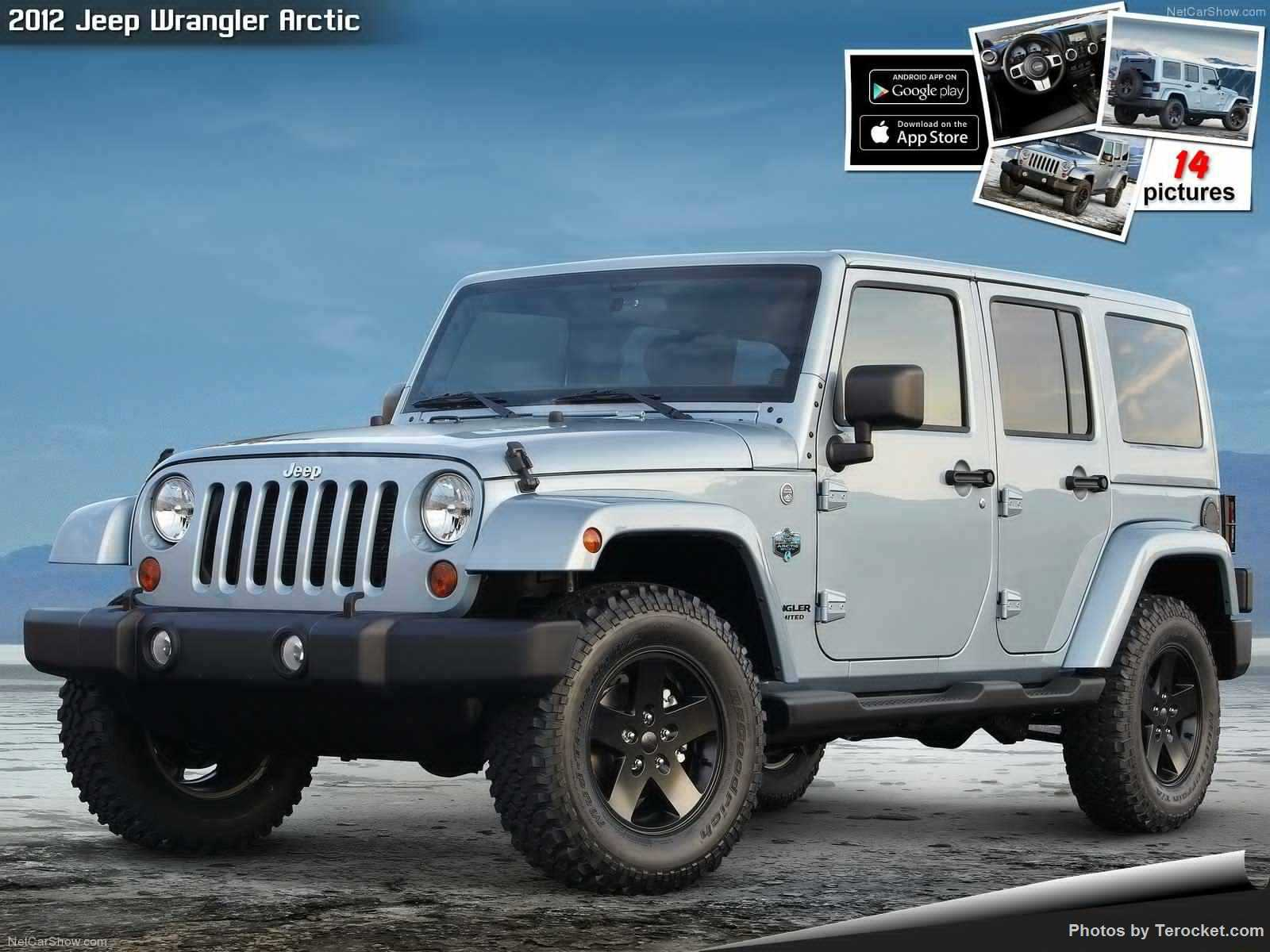 Hình ảnh xe ô tô Jeep Wrangler Arctic 2012 & nội ngoại thất