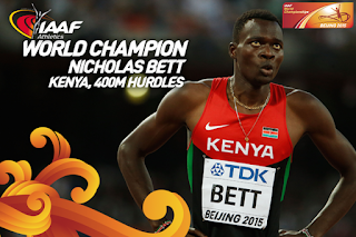 Surprise! Nicholas Bett Bags Gold for Kenya in World Championship