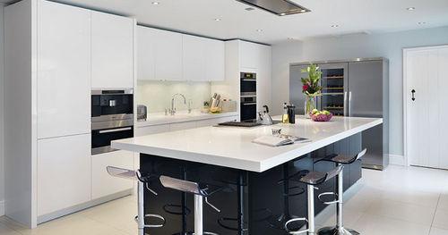 Fotos de cocinas con isla colores en casa for Cocinas en isla