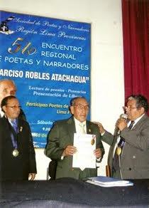 "V ENCUENTRO REGIONAL DE POETAS Y NARRADORES 2013 ""NARCISO ROBLES ATACHAGUA"""