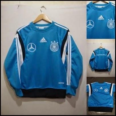Sweater GO Jerman Biru