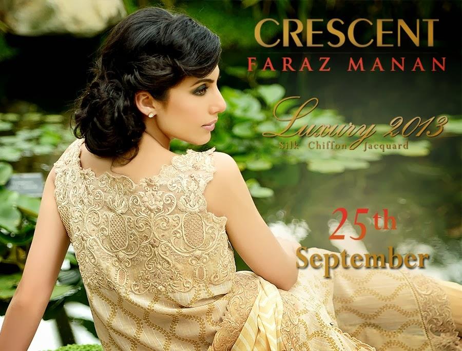 CRESCENTFarazMananLuxury2013 005 wwwFashionhuntworldblogspotcom - Crescent Faraz Manan Luxury Fall/Winter 2013-14