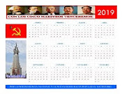 Communist Party Calendar