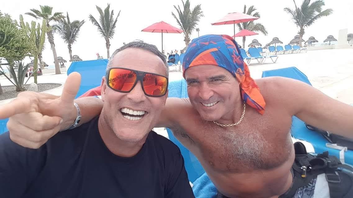 20\11\2018 con Mi mejor amigo Edgardo