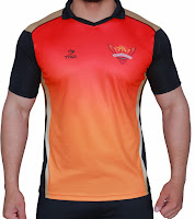 Buy Sunrisers Hyderabad Fan Jersey Rs. 539 only at Amazon.