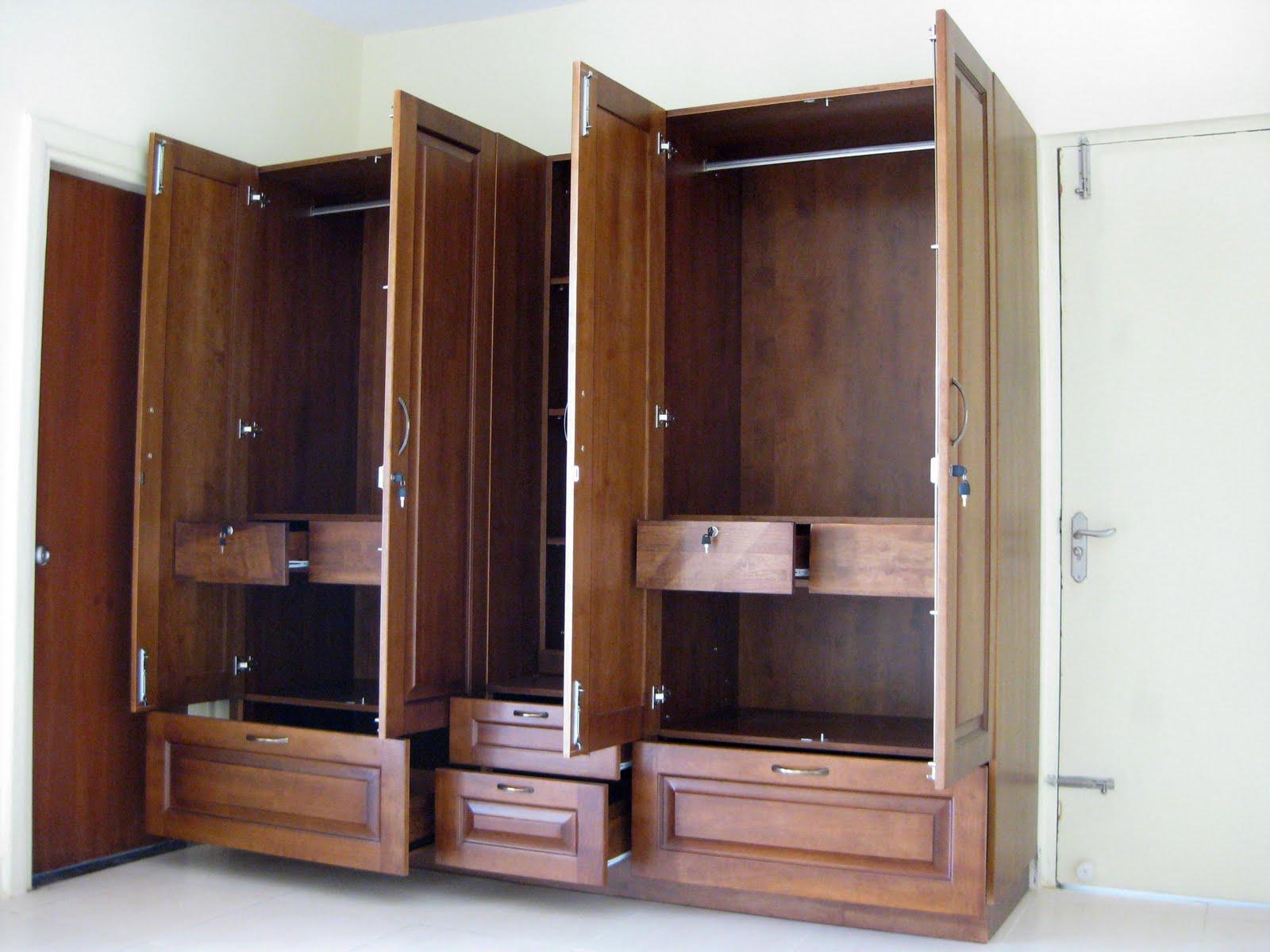 gambar model lemari pakaian modern terbaru