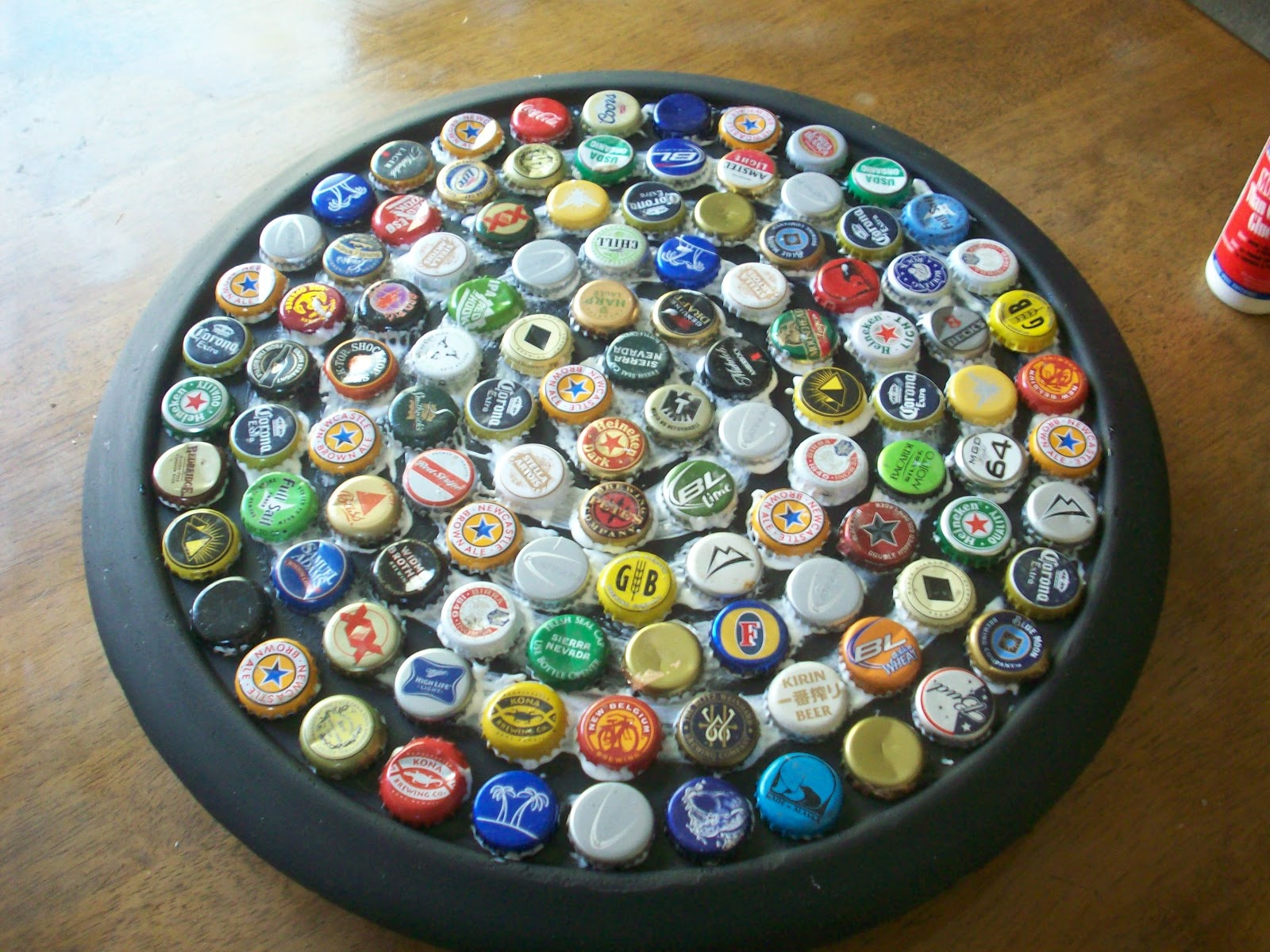 Bottle cap crafts just b cause for How to make bottle cap crafts
