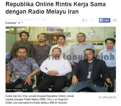 Dinamika Koran Republika Cenderung Syiah