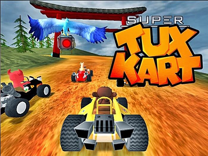 Super Tux Kart