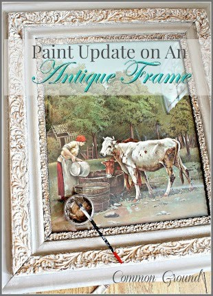 Updating Antique Frames