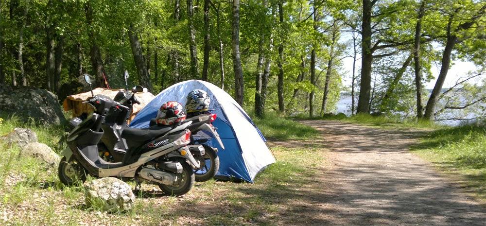Living tha tent life