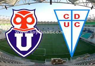 Clásico U de Chile vs Universidad Católica 2015