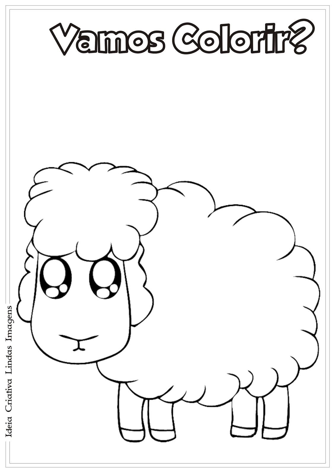 Páscoa Cristã desenho para colorir