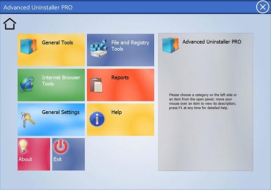برنامج مجاني إحترافي لتنظيف وإلغاء تثبيت البرامج بسرعة وسهولة بدون ترك أي بقايا Advanced Uninstaller Pro 11.26