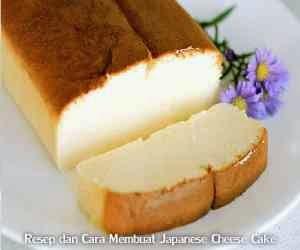 Resep dan Cara Membuat Japanese Cheese Cake