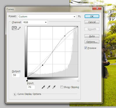 ray14 Membuat Ray of Light Cahaya Matahari dengan Photoshop