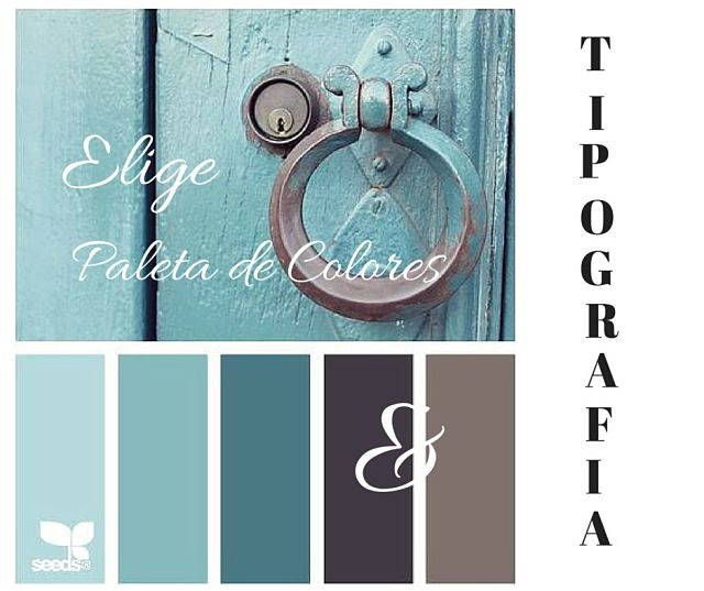 Elige correctamente la tipografía y los colores de tu blog