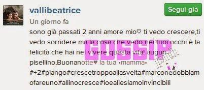 Beatrice Valli incinta
