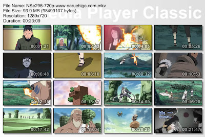 "DOWNLOAD FILM / ANIME NARUTO EPISODE 296 ""NARUTO MEMASUKI MEDAN PERANG"" BAHASA INDONESIA"