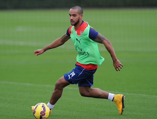 Theo Walcott set to make a first team come back