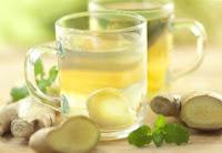Рецепт имбирного чая