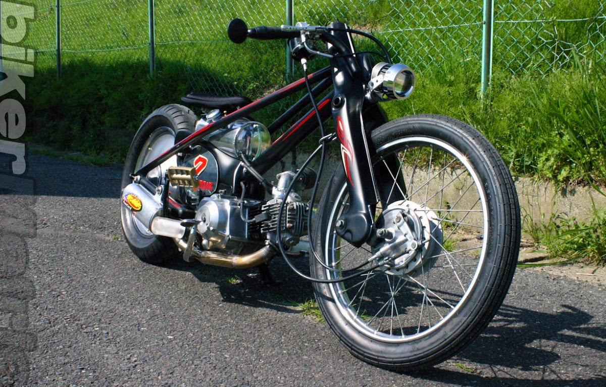 90cc super cub chopper | psyclooz
