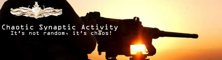 Chaotic Synaptic Activity