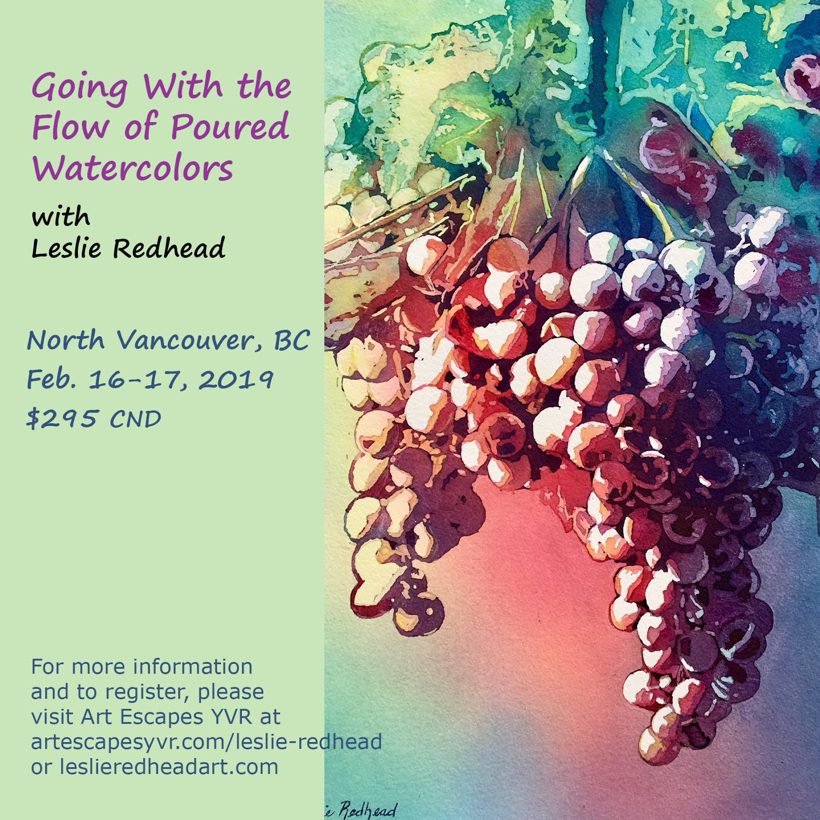 Pouring Watercolor Workshop