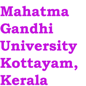mahatma gandhi university kerala online thesis Hindi and english the digitilization project done for the mahatma gandhi university, kerala,  trl mohand s karamcand mahatma gandhi university online thesis.