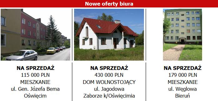 Nowe oferty biura