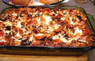Pizza Top Casserole (Lasagna)
