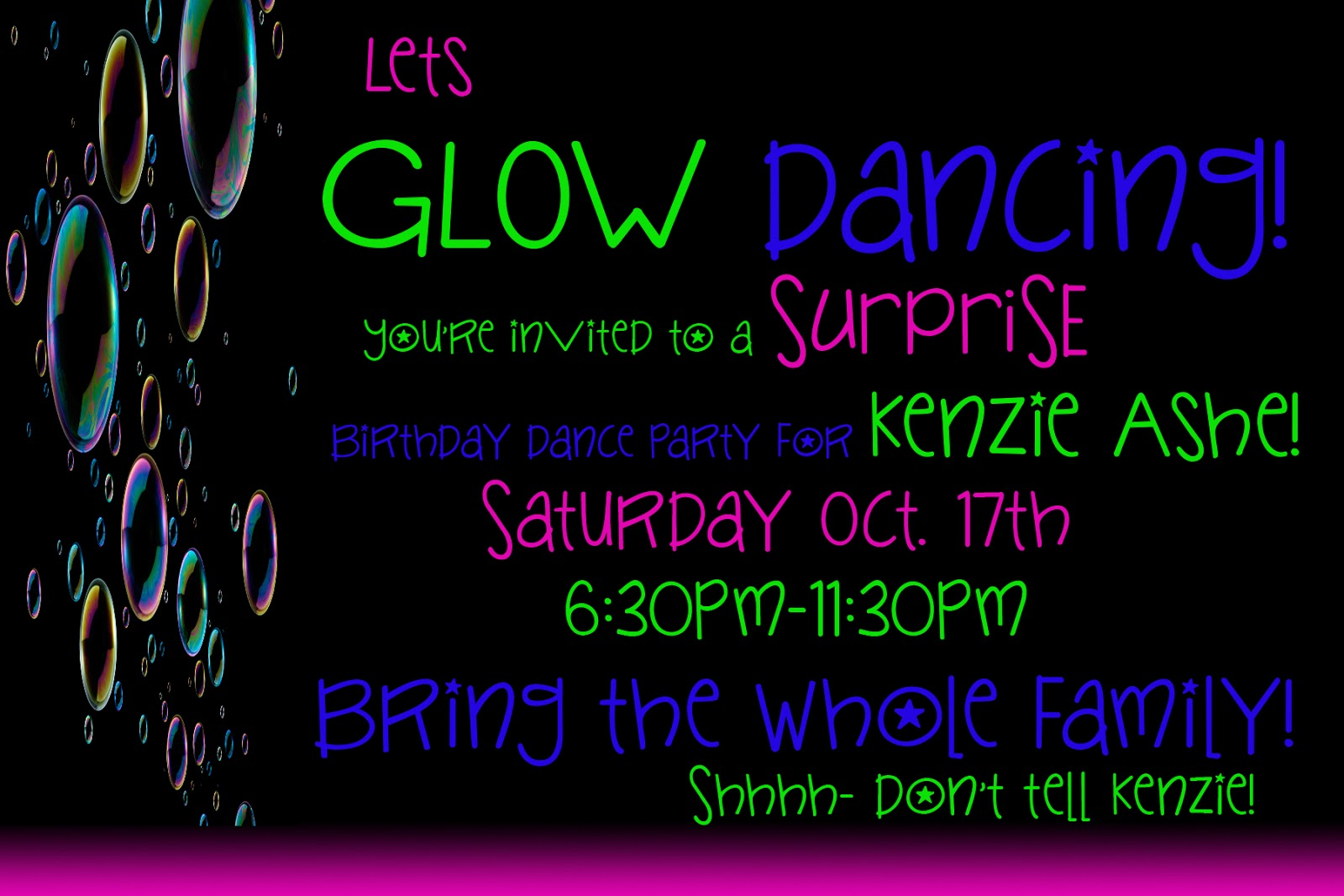 A to Z for Moms Like Me: How to throw a GLOW Party