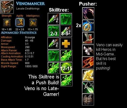 Venomancer Lesale Deathbringer Item Build Skill Build