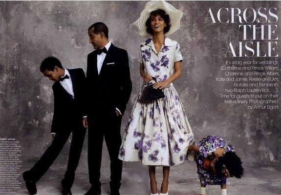 Various Models - Vogue US, April 2015