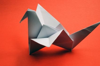 how to make a origami swan with flapping wings