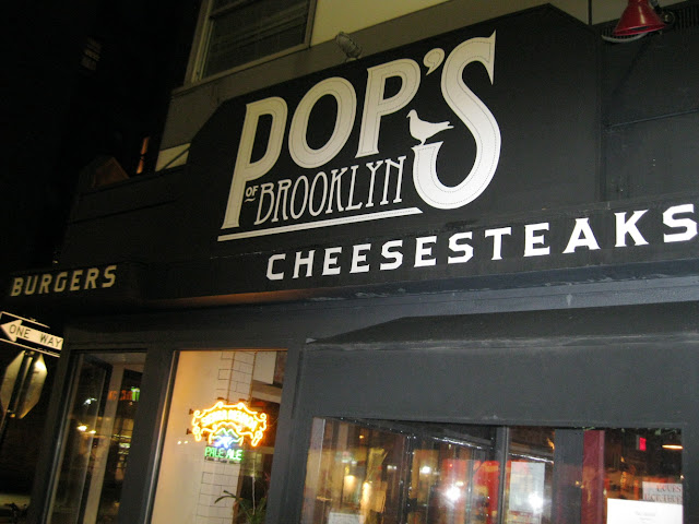 Cheesesteaks aren't the first thing you think of when you think about dining in New York, but they might be next time you visit Pop's of Brooklyn