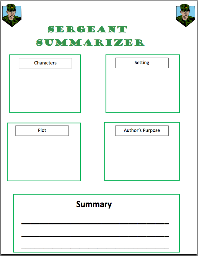 Printables Summary Worksheets 5th Grade Gozoneguide Thousands of – Summarizing Worksheets 3rd Grade