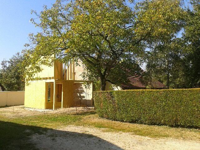 blog archi d co design l 39 extension structure bois du cher en construction. Black Bedroom Furniture Sets. Home Design Ideas