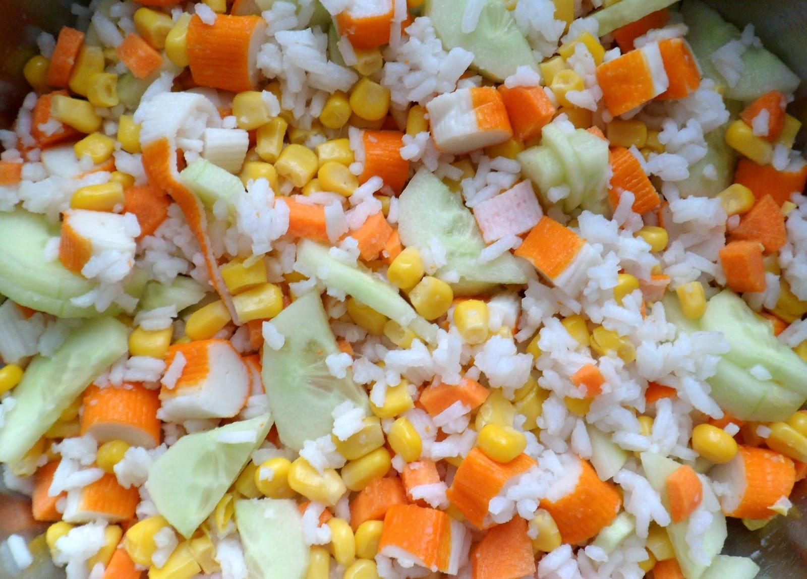 Les crocs du loupinet salade de riz camarguaise for Eliminer les vers des salades