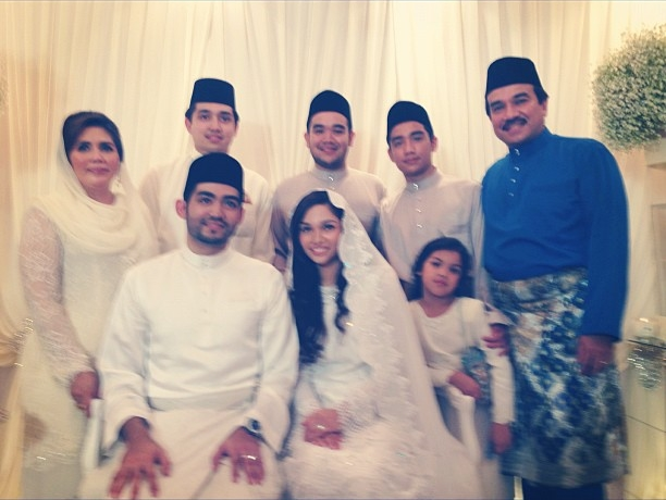 Majlis pernikahan Anas, anak DS Hishamuddin dan Alyssa anak tiri Datuk