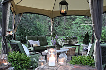 English Garden Inspired Patio Makeover With Kmart - French