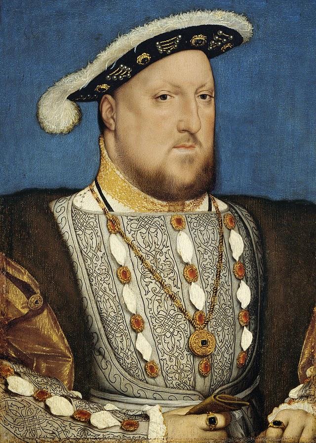 ερρίκος VIII, πορτρέρο, προσωπογραφία, Hans Holbein, Χανς Χολμπαιν,