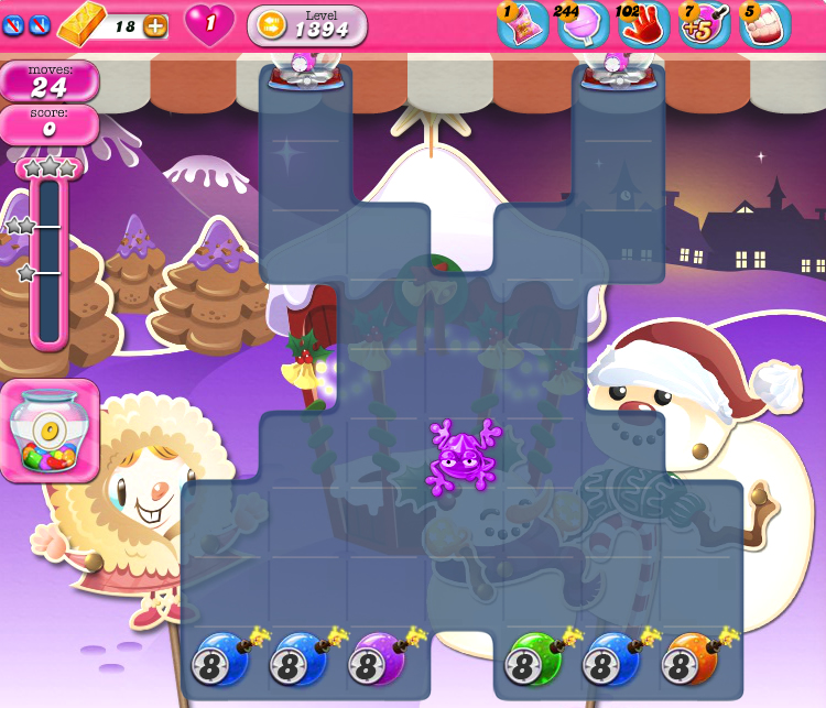 Candy Crush Saga 1394