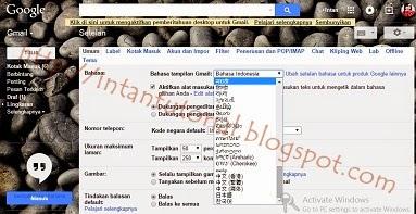 Cara Mengganti Pengaturan Bahasa pada Gmail Terbaru