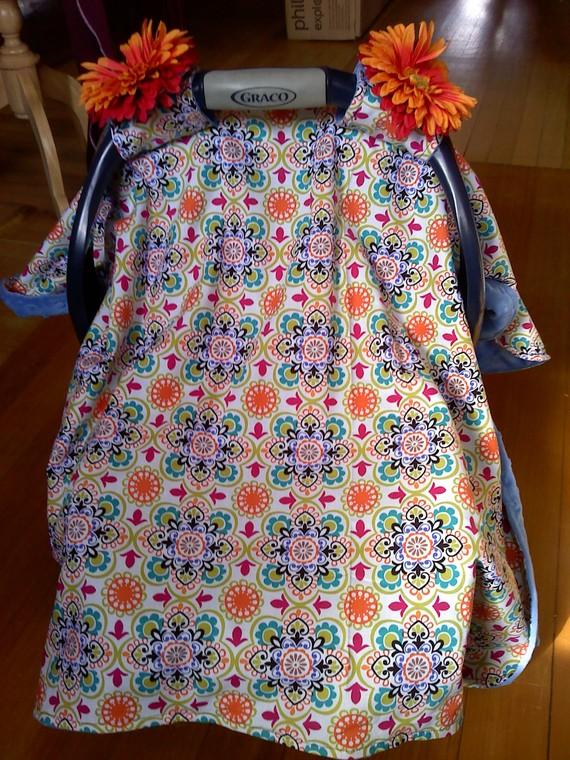 Sew Fantastic Baby Car Seat Cover Tutorial