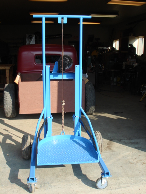 Homemade Oil Barrel Lifter