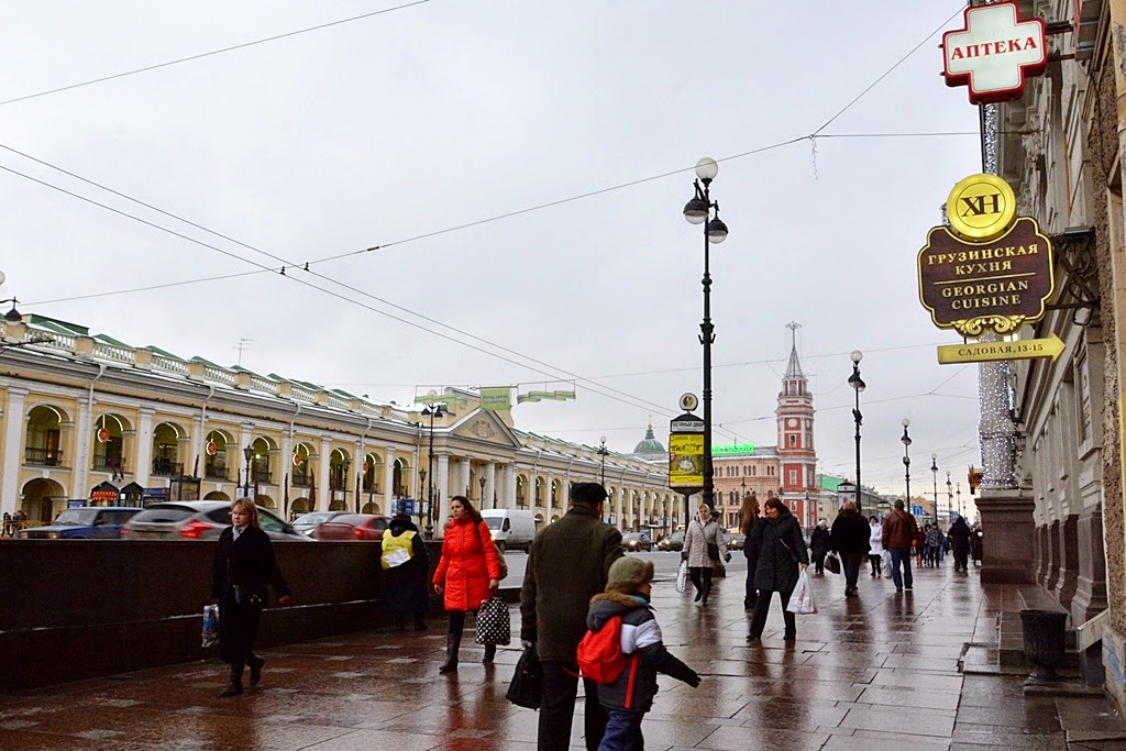 Nevsky prospect St. Petersburg